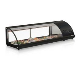 vitrine sushi gelopar 1,60 mt pronta entrega *Guilherme
