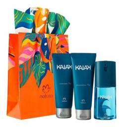 Kit presente natura kaiak tradicional masculino kit barbear e deo corporal