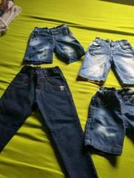 Kit de jeans semi novo