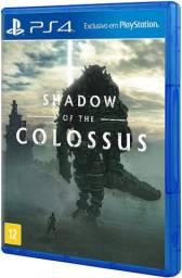 Shadow Of The Colossus - Jogo em Mídia Física para Playstation 4 - PS4