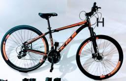 Bicicleta com FREIO HIDRÁULICO