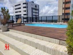 Título do anúncio: Apartamento com 2 dormitórios para alugar, 50 m² por R$ 1.500,00/mês - Aeroclube - João Pe