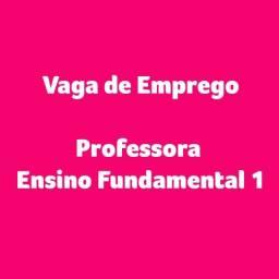 Vaga de Emprego Para Professora com Experiência no Ensino Fundamental 1 e Aulas Online