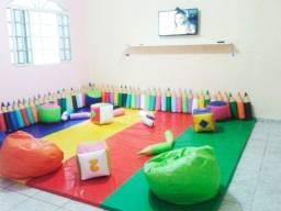 Puffs Gotinha Infantil Coloridos para creche e área Kids para os pequeninos