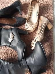 Lote calçado feminino n34