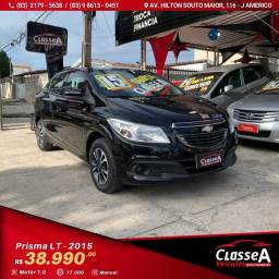GM PRISMA LT 1.0 Flex 2015 Super Novo