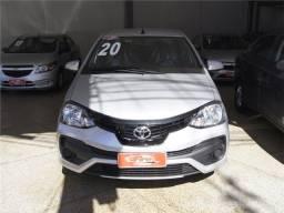 Título do anúncio: Toyota Etios 2020 1.5 x sedan 16v flex 4p automático