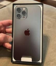Novo Iphone 12 Pro Max Grafite 128gb Lacrado na Caixa
