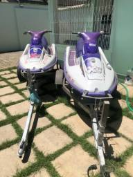 2 Jet Ski kawasaki com carretinha