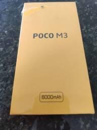 Xiaomi Poco M3 4gb/128gb Azul Novo Lacrado