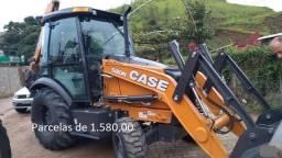 Retroescavadeira Case 580N 4x4 2020 Entrada mais Parcelas com Serviço.