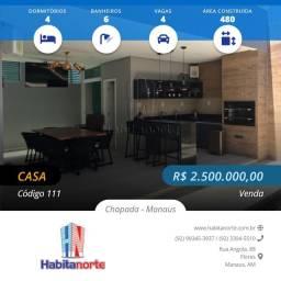 CONDOMÍNIO RENAISSANCE 480M² VENDA DE CASAS EM MANAUS