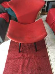 Cadeira e tapete