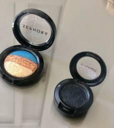 Sombras Mac e Sephora