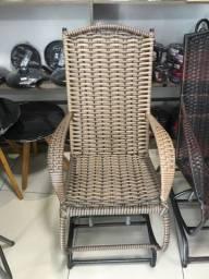Cadeiras de balanço de fibra de de fio