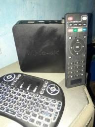 Tv box  MX Q   4k novo
