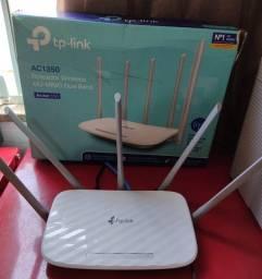 Roteador Tp-link Archer C60 Ac1350 Wireless Dual Band 5 Antenas