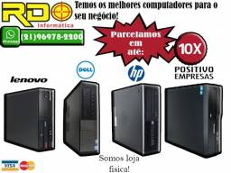 Dell Intel Core2duo/i3/i5/i7 4GB/500GB 10x sem juros cartão
