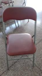 Cadeiras com estofado