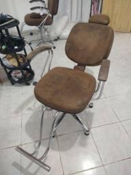 Cadeira salão cabeleireiro cabeleireira barbeiro barbearia