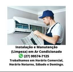 Conserto, instalação e Manutenção - Ar condicionado