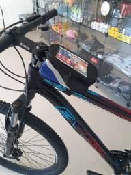 (Frete Grátis) Bolsa Case Porta Celular Suporte Quadro Bike Bicicleta