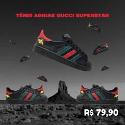 Tênis Adidas Gucci Superstar Promoção Imperdíve!