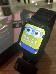 Smartwatch P80s - Mede batimentos cardiacos Atende Faz ligação