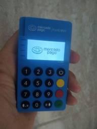 A nova máquina do Mercado Pago com tela de Led- Point Mini