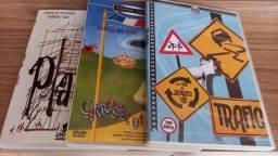 3 Dvds originais Jacques Tati excelente estado - R$ 60,00 os três