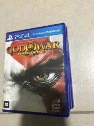 Vendo jogo God Of War III para Ps4