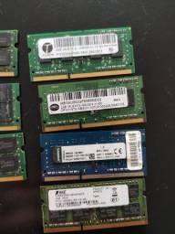 Memória RAM 2gb ddr2 ddr3