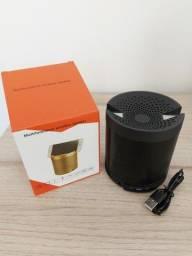 Caixa de Som Bluetooth WL Q3 com FM, Entrada Sd e Microfone