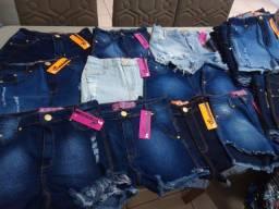 Loja do shorts jeans atacado R$22,00