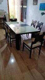 Mesa completa 6 cadeiras
