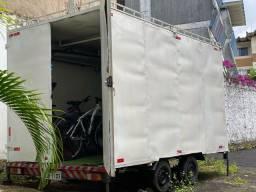 TRAILLER FOOD TRUCK - 8m2 - OPORTUNIDADE ÚNICA