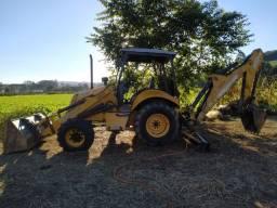 Retro escavadeira New holland lb90