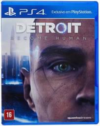 Detroit Become Human - PlayStation 4 - PS4 Jogo Game