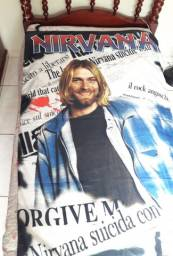 Bandeira Nirvana Kurt Cobain