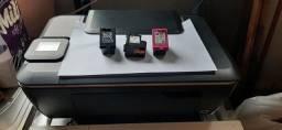 Vendo os cartuchos 662 preto e colorido cheio e um 662 preto vazio e impressora sem fonte