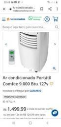 Ar condicionado PORTÁTIL 9.000BTUS
