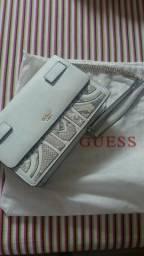 Bolsa couro Guess