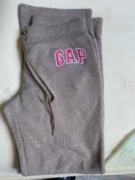 Calça de moletom feminina GAP- M