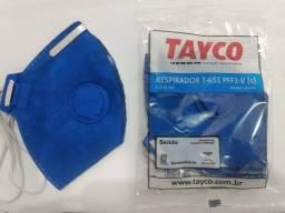 Máscara respirador PFF1 N95 com Válvula TAYCO