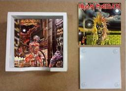 Porta copos personalizados Iron Maiden
