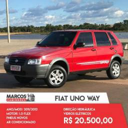 Fiat Uno Way 1.0 11/12 Completo - 2011