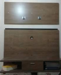 Painel com suporte de tv 47 polegadas, comprado na Uba Móveis