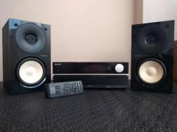 Mini System Sony Hi-Fi CMT-HX50BTR Super Novo