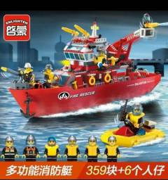 Navio resgate bombeiro