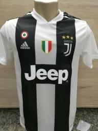 Camisa Camiseta cr7 Cristiano Ronaldo 2018 juventus